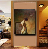 Vente en gros Naked Woman sur Canva pour peintures à l'huile à la main