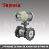 Meters van de Stroom van Supmea de Elektromagnetische met LEIDENE Vertoning die voor het Water van de Behandeling van afvalwater wordt gebruikt