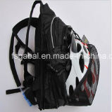 Saco de ciclagem da trouxa da bexiga impermeável da água de Motorcyle com bolso do capacete