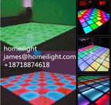 La disco DJ d'usager de lumière d'étape de contrôle de voix de danse de danse de panneau de l'étage de danse de DMX RVB 1*1m matraquent l'effet de DEL