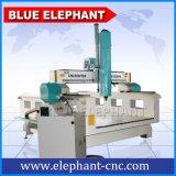 tagliatrice della gomma piuma 3D di 1300*2500mm, macchina di CNC per la fabbricazione della muffa