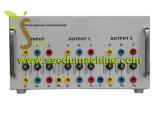 OnderwijsTribune van de Apparatuur van het Onderwijs van de Apparatuur van de Trainer van de Transformator van drie Fasen de Didactische