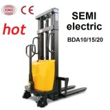 1.5 tonnellate Semi-Electric Stacker con Optional Lifting Height