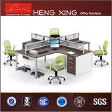 Sitio de trabajo moderno del ordenador del personal de oficina de 4 asientos (HX-ND5028)