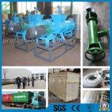 Separador líquido contínuo para os desperdícios animais