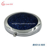 Zoll Shinny blauen kompakten Pocket Spiegel