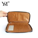 PU способа хорошего качества выполненный на заказ кожаный бумажник