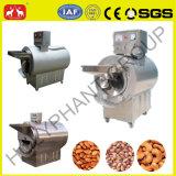 十分にステンレス鋼のクルミ、アーモンドのナット、コーヒー豆の電気焙焼機械