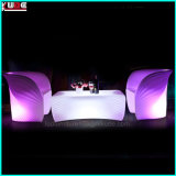 現代LEDの屋外の家具プラスチックLEDのソファー