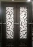 Erstklassige Qualitätsdekorative Eisen-Eintrag-Haustüren für neues Haus
