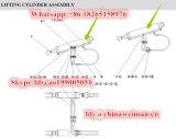 Pezzi di ricambio del caricatore della rotella di Sdlg LG936L che alzano cilindro Hsgf-125*70*771-1240 4120000867