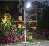 réverbère solaire de jardin du stationnement 80W avec 5 ans de garantie