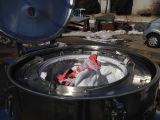 Pd1000タイプ上昇袋の排出大きい容量のバスケット平らなフィルター遠心分離機