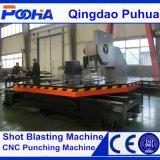 Машина давления пунша CNC экрана сетки с линейными пробивая инструментами