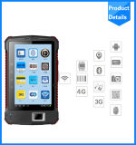 Lector Handheld 915MHz de la frecuencia ultraelevada NFC de la pantalla táctil de Andorid del fabricante de China