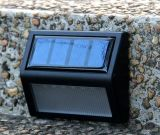 Lumière imperméable à l'eau fixée au mur de jardin d'énergie solaire de DEL
