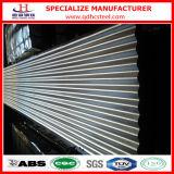 Hojas de acero acanaladas galvanizadas 28ga cero de la lentejuela Zn150
