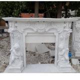 Каминная доска камина статуи мраморный (SY-MF046)