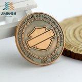 Ориентированный на заказчика медальон бронзы Antique металла выбитый 3D