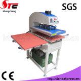 Máquina de impressão hidráulica de venda quente da transferência térmica do certificado do GV