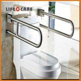Barra di gru a benna diritta della stanza da bagno dell'acciaio inossidabile