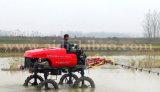 Pulverizador do crescimento da potência do TGV do tipo 4WD de Aidi para o campo de almofada