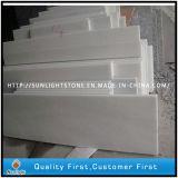 Marbre blanc en cristal naturel de Chine pour les carreaux de sol et les comptoirs