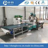 Автоматическая подавая доска MDF деревянный маршрутизатор CNC