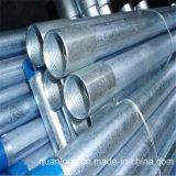 Трубы углерода Manufactory гальванизированные Q235 стальные