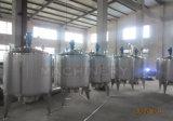 Tanque de mistura fechado sanitário do aquecimento de vapor com câmara de visita (ACE-JBG-O2)