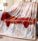 Polyester 100% Printed Thick Flannel Blanket mit Binding Edge