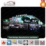 De grote Tent van het Festival van het Bier met de Muur van het Glas