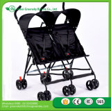 Neuer Entwurfs-gute Qualitätswundervoller Doppelbaby-Spaziergänger, Regenschirm paart Baby-Spaziergänger