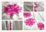 Ткань подкладки сатинировки шифоновой ткани сатинировки Silk для платья женщин (RHFZ-0321)