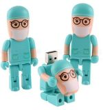 Matchstick Men USB Flash Drive-Cute Man Style-2GB Capacidade