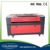 최신 판매를 위한 80W 100W 직물/아크릴/플라스틱/목제 이산화탄소 직물 Laser 절단기