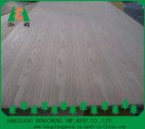 Placa de MDF de folheado de madeira por Ash / Teak / Sapeli / Oak