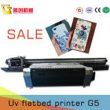 Impresora ULTRAVIOLETA UV2513, impresora plana universal de la inyección de tinta ULTRAVIOLETA del LED para el vidrio, acrílico, de cerámica, metal, madera, hoja del Kt, cuero