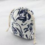 印刷のカスタムロゴポリエステルドローストリング袋