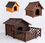 Hundegebrauch-überzogene Hundehundehütte-im Freienhundehundehütte