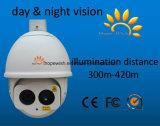 Appareil-photo infrarouge de dôme de vitesse de laser d'IP de garantie de HD