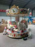 Mini Indoor Merry Go Round pour Amusement Euipment Ride