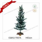 Рождественской елки снежка H1-2feet свет с Рождеством Христовым пластичной крытой крытый