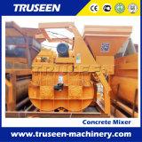 Tipo gemelo máquina del eje Js1000 de la construcción de edificios del mezclador concreto