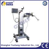 Machine en ligne d'inscription de laser de fibre pour la pipe de PVC et de PPR