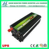 充電器(QW-M3000UPS)が付いている格子コンバーター3000Wインバーターを離れたUPS