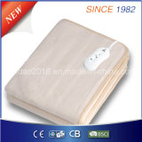 cobertor inferior elétrico do poliéster 50/60W puro com preço de fábrica