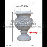 Piantatrice di pietra di marmo MP-211 di Metrix Carrara della piantatrice del granito