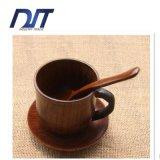 De Natuurlijke Houten Kop van uitstekende kwaliteit met Handvat