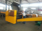 Máquina de estaca de pano, triturador da fibra, triturador de linho